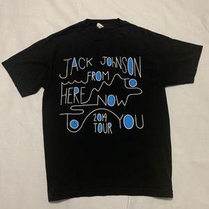 Jack Johnson 2014 Concert T-shirt Size Medium